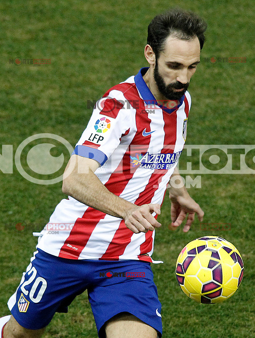 Atletico de Madrid's Juanfran Torres during La Liga match.January 24,2015. (ALTERPHOTOS/Acero) /NortePhoto<br />