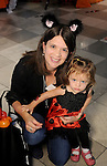 Bevin Barrett with little Alexa at the Little Galleria Halloween Spooktacular presented by MD Anderson Children's Cancer Hospital at The Galleria Sunday Oct. 30,2016.(Dave Rossman photo)