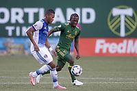 Portland, Oregon - Saturday, June 10, 2017: Portland Timbers vs. FC Dallas in a match at Providence Park.