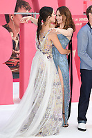 "Eiza Gonzalez and Lily James<br /> at the ""Baby Driver"" premiere, Cineworld Empire Leicester Square, London. <br /> <br /> <br /> ©Ash Knotek  D3285  21/06/2017"