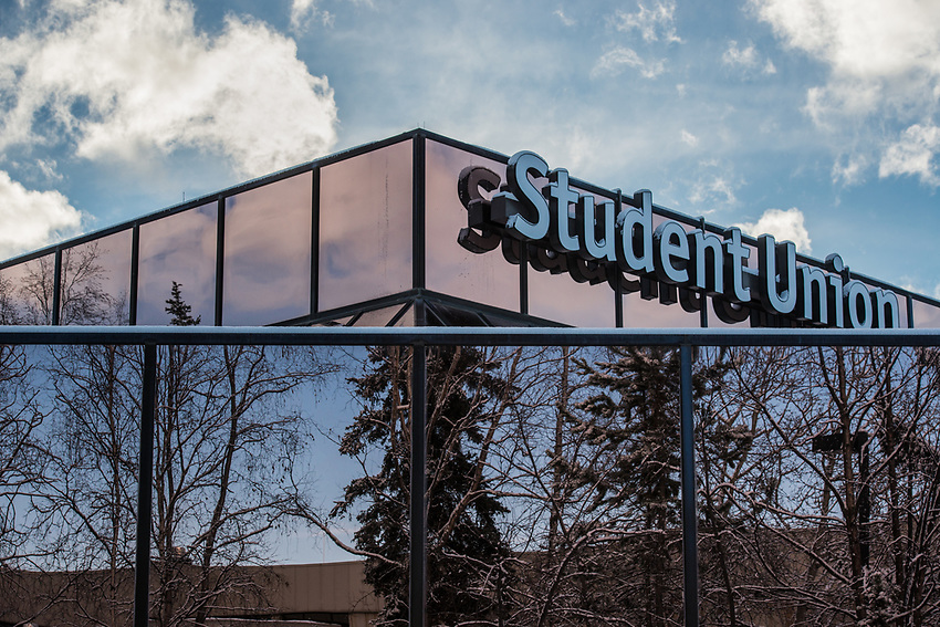 Reflections on UAA's Student Union.