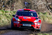 10th February 2019, Galway, Ireland; Galway International Rally; Daniel Cronin and JJ Cremin (Ford Fiesta R5) are in 6th place after the opening loop of stages