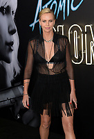 Charlize Theron at the premiere for &quot;Atomic Blonde&quot; at The Theatre at Ace Hotel, Los Angeles, USA 24 July  2017<br /> Picture: Paul Smith/Featureflash/SilverHub 0208 004 5359 sales@silverhubmedia.com