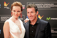 "Actor Antonio de la Torre (R) and Olimpia Melinte  posse in the photocall of the ""Canibal"" film presentation during the 61 San Sebastian Film Festival, in San Sebastian, Spain. September 23, 2013. (ALTERPHOTOS/Victor Blanco) /NortePhoto"