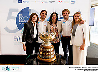 Presentaci&oacute;n de prensa del 50th Trofeo Princesa Sofia Iberostar.<br /> &copy;PEDRO MARTINEZ/SAILING ENERGY<br /> 07 February, 2019.