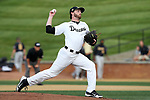 WINSTON-SALEM, NC - JUNE 02: Wake Forest's Connor Johnstone. The Wake Forest Demon Deacons hosted the University of Maryland Baltimore County Retrievers on June 2, 2017, at David F. Couch Ballpark in Winston-Salem, NC in NCAA Division I College Baseball Tournament Winston-Salem Regional Game 2. Wake Forest won the game 11-3.