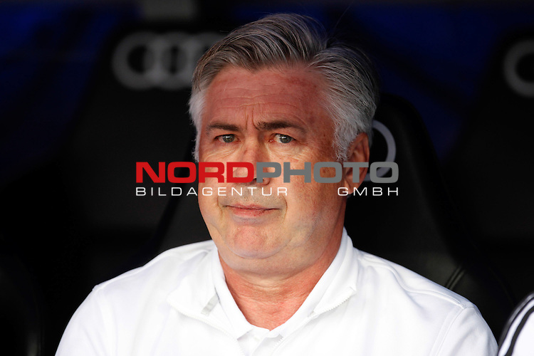 Real Madrid coach Carlo Ancelotti during La Liga Match. September 01, 2013. Foto © nph / Caro Marin)