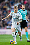 Toni Kroos of Real Madrid in action during the La Liga 2017-18 match between Real Madrid and Sevilla FC at Santiago Bernabeu Stadium on 09 December 2017 in Madrid, Spain. Photo by Diego Souto / Power Sport Images