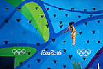 Ken Terauchi (JPN), <br /> AUGUST 15, 2016 - Diving : <br /> Men's 3m Springboard Preliminary Round <br /> at Maria Lenk Aquatic Centre <br /> during the Rio 2016 Olympic Games in Rio de Janeiro, Brazil. <br /> (Photo by Yohei Osada/AFLO SPORT)