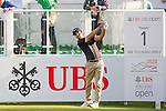 Joël Stalter of France tees off the first hole during the 58th UBS Hong Kong Golf Open as part of the European Tour on 10 December 2016, at the Hong Kong Golf Club, Fanling, Hong Kong, China. Photo by Marcio Rodrigo Machado / Power Sport Images