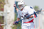 Los Angeles, CA 03/20/10 - Connor Roberg (Arizona # 15) in action during the Arizona-Loyola Marymount University MCLA game at Leavey Field (LMU).  LMU defeated Arizona 13-6.