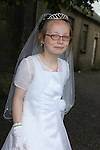 Louise Sadleir at First Communion in Donore Church..Photo: Fran Caffrey/www.newsfile.ie..