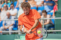 Moscow, Russia, 15 th July, 2016, Tennis,  Davis Cup Russia-Netherlands, First rubber: Robin Haase (NED) <br /> Photo: Henk Koster/tennisimages.com