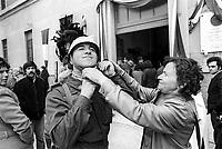 - peace mission of Italian Armed Forces in Lebanon in 1982, return of Governolo battalion  ....- missione di pace delle forze armate italiane in Libano nel 1982, rientro del battaglione Governolo