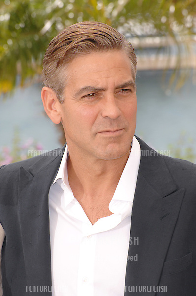 "George Clooney at photocall for ""Ocean's Thirteen"" at the 60th Annual International Film Festival de Cannes..May 24, 2007  Cannes, France..© 2007 Paul Smith / Featureflash"