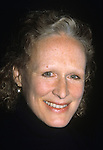 Glenn Close pictured at the 61st Annual Drama League Awards for the theatre at the Plaza Hotel in New York City on March 5, 1995.