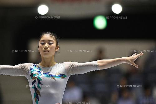Yuki Uchiyama, <br /> MAY 4, 2016 - Artistic Gymnastics : <br /> The 55th NHK Cup Women's Individual All-Around <br /> Women's Balance Beam<br /> at Yoyogi 1st Gymnasium, Tokyo, Japan. <br /> (Photo by AFLO SPORT)