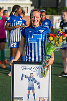 Allston, MA - Saturday August 19, 2017: Amanda DaCosta during a regular season National Women's Soccer League (NWSL) match between the Boston Breakers and the Orlando Pride at Jordan Field.