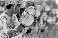 Foliões em Belém de 1985