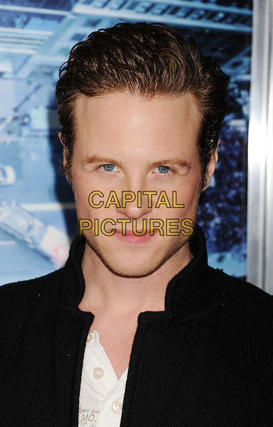 Ashton Holmes.L.A. Premiere of 'Man on a Ledge' held at The Grauman's Chinese Theatre in Hollywood, California, USA..January 23rd, 2012.headshot portrait black.CAP/ROT/TM.©Tony Michaels/Roth Stock/Capital Pictures