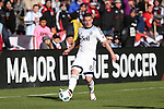 09 April 2016: Vancouver's Fraser Aird (CAN). DC United hosted the Vancouver Whitecaps FC at RFK Stadium in Washington, DC in a 2016 Major League Soccer regular season game. DC United won the match 4-0.