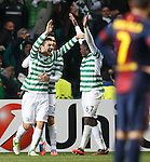 Tony Watt celebrates his goal