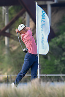 Thorbjorn Olesen (DEN) watches his tee shot on 13 during day 3 of the WGC Dell Match Play, at the Austin Country Club, Austin, Texas, USA. 3/29/2019.<br /> Picture: Golffile | Ken Murray<br /> <br /> <br /> All photo usage must carry mandatory copyright credit (© Golffile | Ken Murray)