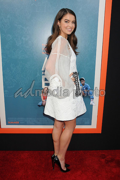 """3 June 2015 - West Hollywood, California - Katherine Hughes. """"Me And Earl And The Dying Girl"""" Los Angeles Premiere held at the Harmony Gold Theatre. Photo Credit: Byron Purvis/AdMedia"""