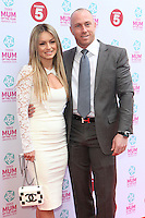 Ola and James Jordan arriving at the Tesco Mum Of The Year Awards 2014, at The Savoy, London. 23/02/2014 Picture by: Alexandra Glen / Featureflash