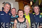 2786-2787.Enjoying the match in The Kerins O'Rahilly's GAA Club were l/r Edwin Quirke, Will Bennett, Helen Barry, P.J. O'Sullivan and Ned Browne.......................................... ............   Copyright Kerry's Eye 2008