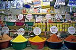 Loja de temperos em mercado. Durban. África do Sul. 2007. Foto de Cris Berger.