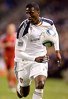 LA Galaxy forward Edson Buddle (14) moves to the ball. The LA Galaxy and Toronto FC played to a 0-0 draw at Home Depot Center stadium in Carson, California on Saturday May 15, 2010.  .