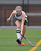 Carle Place No. 14 Elissa Frein keeps a ball inbounds during the Nassau County varsity field hockey Class C final against Oyster Bay at Adelphi University on Sunday, November 1, 2015. She tallied two goals and two assists in Carle Place's 5-0 win.<br /> <br /> James Escher