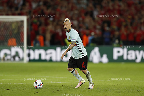 Radja Nainggolan (BEL), JULY 1, 2016 - Football / Soccer : UEFA EURO 2016 Quarter-finals match between Wales 3-1 Belgium at the Stade Pierre Mauroy in Lille Metropole, France. (Photo by Mutsu Kawamori/AFLO) [3604]
