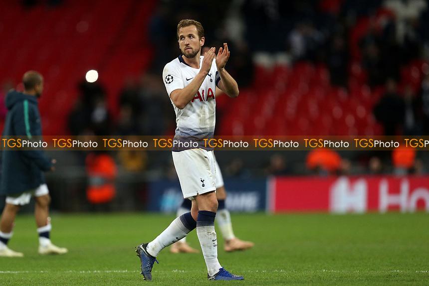 Harry Kane of Tottenham Hotspurafter Tottenham Hotspur vs PSV Eindhoven, UEFA Champions League Football at Wembley Stadium on 6th November 2018