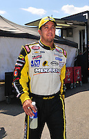 May 30, 2008; Dover, DE, USA; Nascar Sprint Cup Series driver Matt Crafton during qualifying for the Best Buy 400 at the Dover International Speedway. Mandatory Credit: Mark J. Rebilas-
