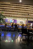 USA, Oregon, Ashland, evening interior shot of the Caldera Brewery and Restaurant