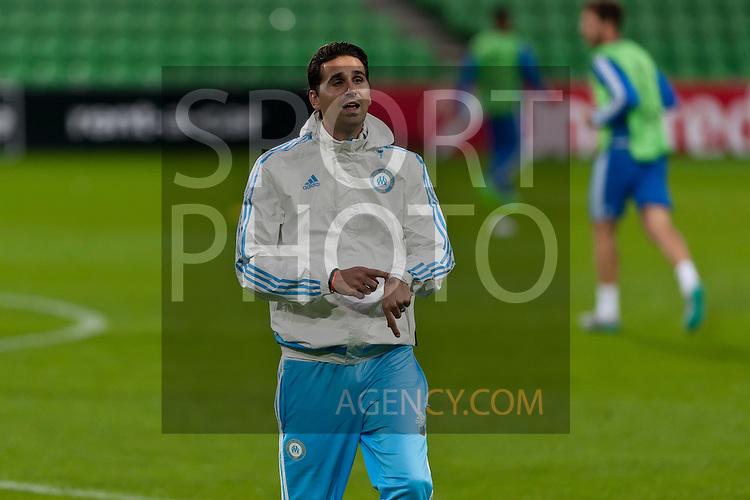 Voetbal: 16-9-2015,UEFA, Fc Groningen vs Olympique de Marseille,training,