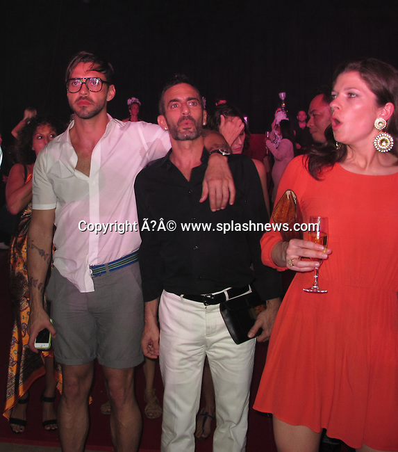 EXCLUSIVE: Roman Abramovich's NYE party in St. Barth, Caribbean.<br /><br />Pictured: Lorenzo Martone and Marc Jacobs<br />Ref: SPL346842  311211   EXCLUSIVE<br />Picture by: CelebrityVibe / Splash News<br /><br />Splash News and Pictures<br />Los Angeles:310-821-2666<br />New York:212-619-2666<br />London:870-934-2666<br />photodesk@splashnews.com