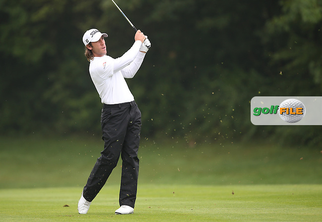Romain Wattel (FRA) carded a 68 and T12 (-16) during the Final Round of the BMW International Open 2014 from Golf Club Gut Lärchenhof, Pulheim, Köln, Germany. Picture:  David Lloyd / www.golffile.ie