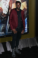 """HOLLYWOOD, LOS ANGELES, CA, USA - MARCH 04: Derek Luke at the Los Angeles Premiere Of Warner Bros. Pictures And Legendary Pictures' """"300: Rise Of An Empire"""" held at TCL Chinese Theatre on March 4, 2014 in Hollywood, Los Angeles, California, United States. (Photo by Xavier Collin/Celebrity Monitor)"""