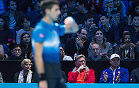 NOVAK DJOKOVIC and ROGER FEDERER - ATP World Tour - 17.11.2015
