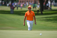 Rickie Fowler (USA) approaches the green on 7 during round 4 of the Fort Worth Invitational, The Colonial, at Fort Worth, Texas, USA. 5/27/2018.<br /> Picture: Golffile | Ken Murray<br /> <br /> All photo usage must carry mandatory copyright credit (© Golffile | Ken Murray)