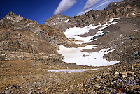 Arapaho Glacier, in the Indian Peaks Wilderness area, Colorado.