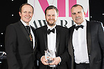 © Joel Goodman - 07973 332324 . 02/03/2017 . Manchester , UK . Team of the Year – Property - DAC Beachcroft . The Manchester Legal Awards at the Midland Hotel . Photo credit : Joel Goodman