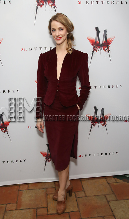 Erica Sweany attends the Broadway Opening Night After Party for 'M. Butterfly' on October 26, 2017 at Red Eye Grill in New York City.