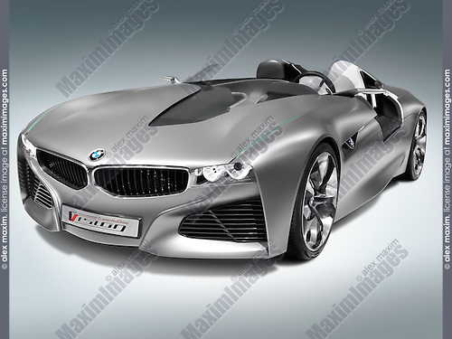 Bmw Vision Connected Drive Concept Sports Car Fashion Commercial