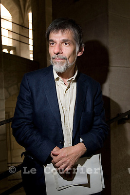 Genève, le 17.05.2009.M. René Longet, parti socialiste..© Le Courrier / J.-P. Di Silvestro