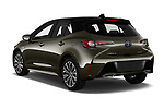 Car pictures of rear three quarter view of a 2019 Toyota Corolla Style 5 Door Hatchback angular rear