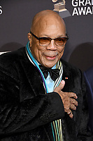 09 February 2019 - Beverly Hills, California - Quincy Jones. The Recording Academy And Clive Davis' 2019 Pre-GRAMMY Gala held at the Beverly Hilton Hotel.   <br /> CAP/ADM/BT<br /> ©BT/ADM/Capital Pictures